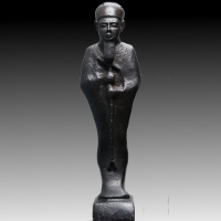 A Bronze Statuette of the God Ptah
