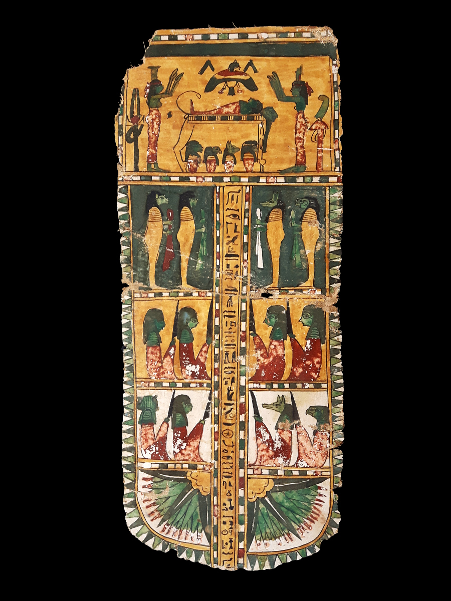 Alexander Ancient Art An Egyptian Mummy Cartonnage