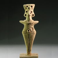 A Levant Middle Bronze Age Female Figurine
