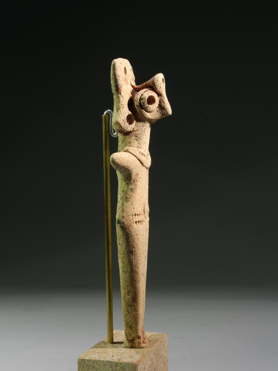 Alexander Ancient Art - A Green Glazed Shabti