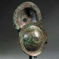 A Pair of Israelite Bronze Cymbals