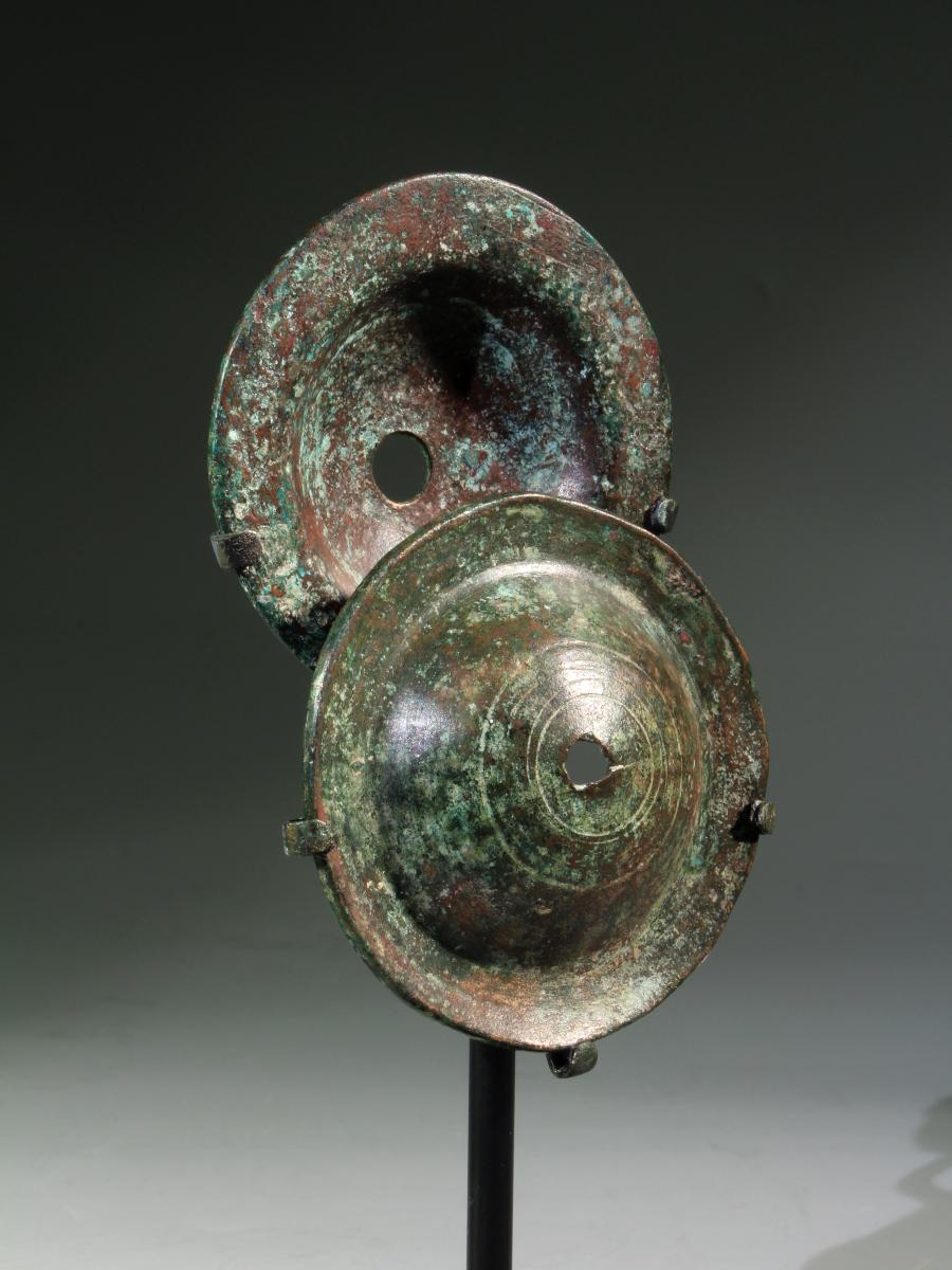 Alexander Ancient Art A Pair Of Israelite Bronze Cymbals