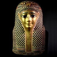 An Egyptian Mummy Mask