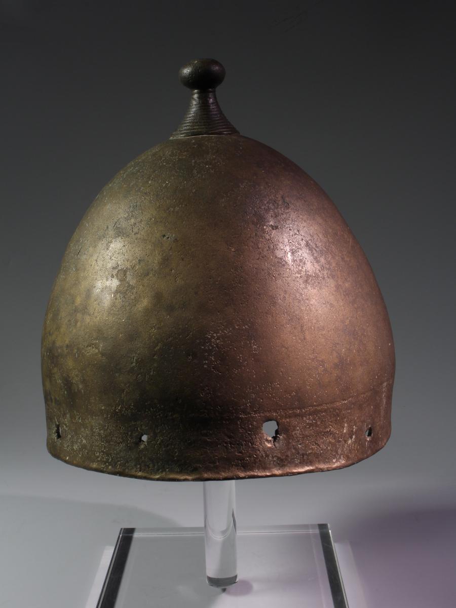 Alexander Ancient Art A European Bronze Age Bell Helmet