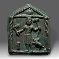 A Votive Plaque Showing Hades and Kerberos