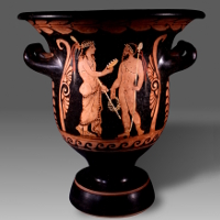A Paestan Red-Figured Bell Krater Attributed to the Painter Python