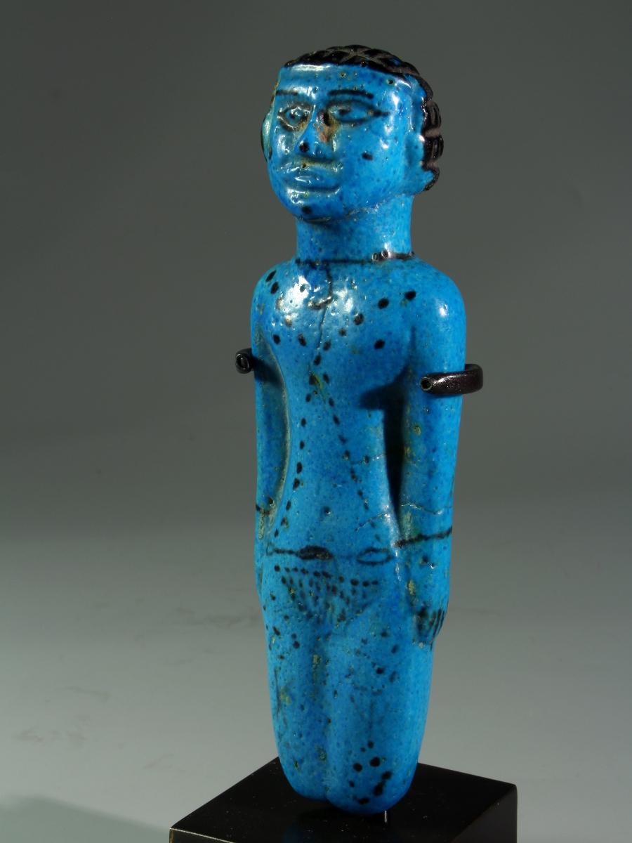 Alexander Ancient Art An Egyptian Middle Kingdom Faience Fertility Figurine