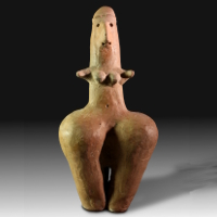 An Amlash Steatopygous Terracotta Idol