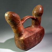 A Vicus Erotic Fertility Whistling Vessel