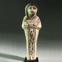 An Egyptian Faience Shabti for Maatptah
