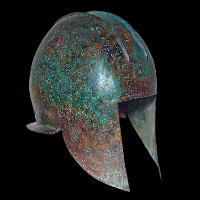 An Illyrian Greek Bronze Helmet
