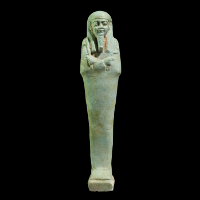 An Egyptian Faience Shabti