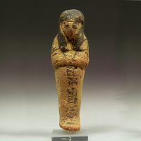 An Egyptian Clay Shabti for Djedmut