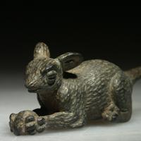 A Roman Bronze Figure of a Mouse