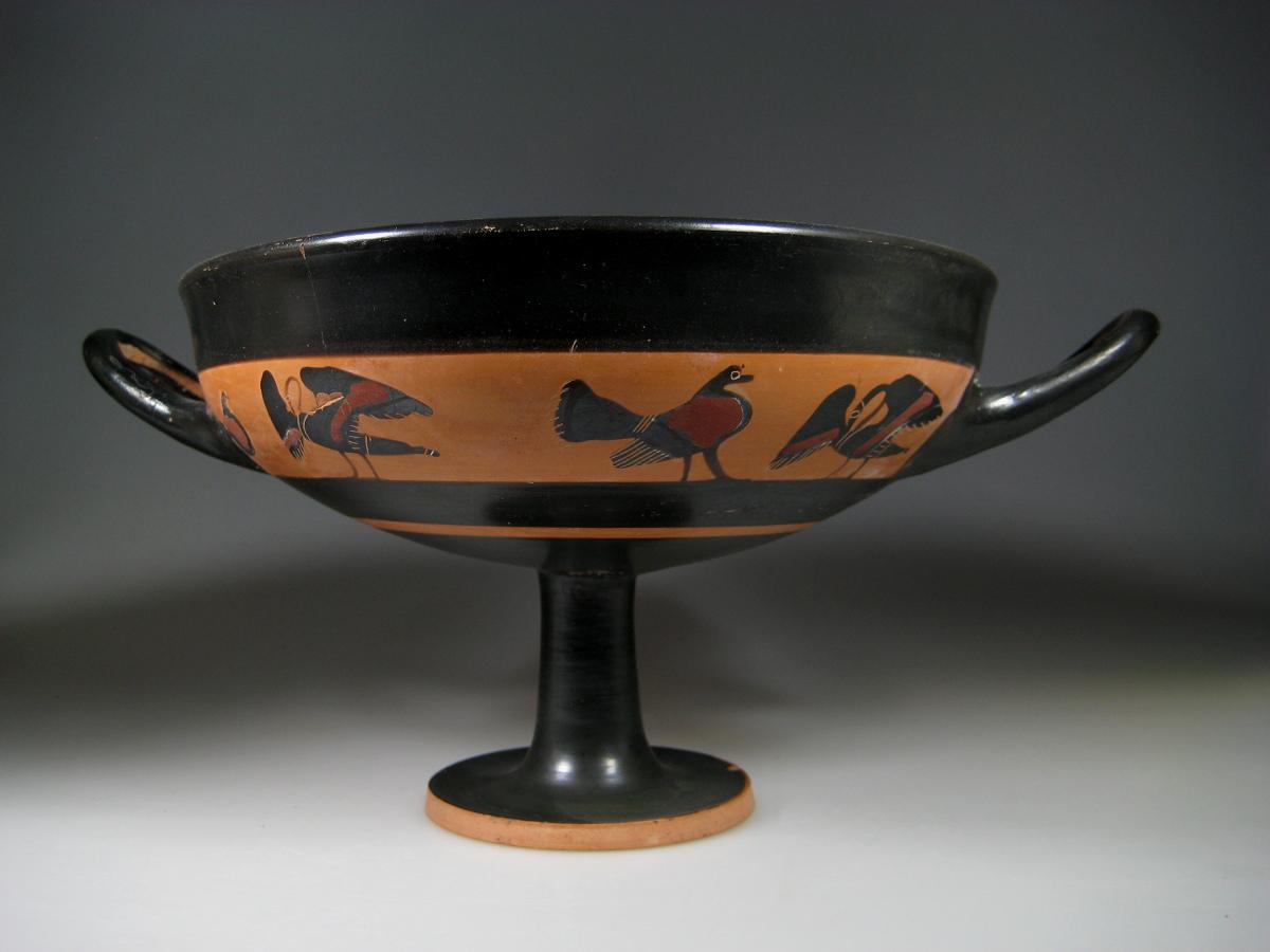 & Alexander Ancient Art - An Attic Black-Figure Kylix