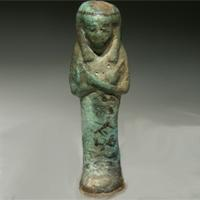 A Shabti from the Third Intermediate Period