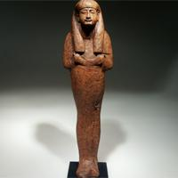 A Large New Kingdom Wood Shabti