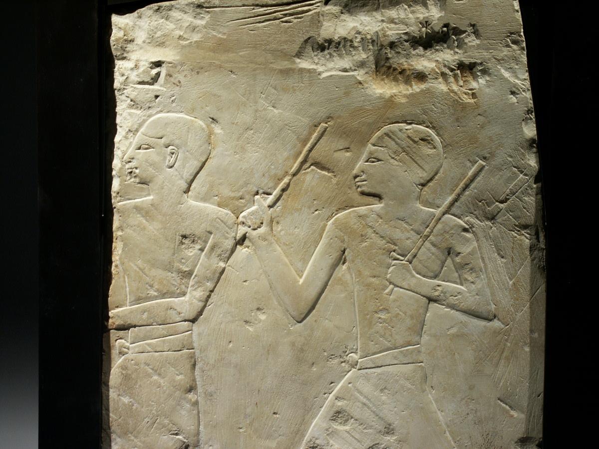 Alexander Ancient Art An Egyptian Limestone Relief Fragment