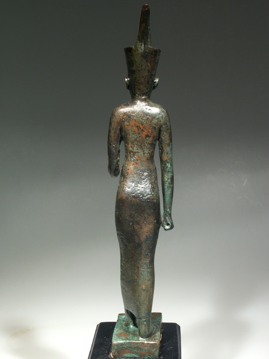 Alexander Ancient Art - A Bronze Statuette of the Goddess Neith