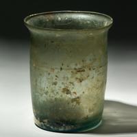 A Roman Glass Tumbler - ex Boston Museum