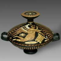 A Large Apulian Red-Figure Lekanis