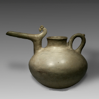 An Amlash Grey Ware Vessel