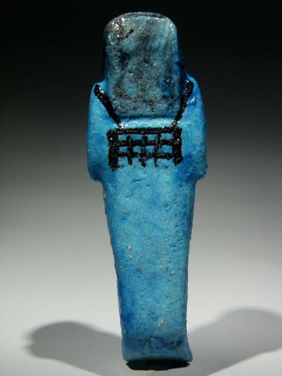 Alexander Ancient Art An Egyptian Bright Blue Glazed