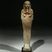 A Large Composite Shabti for Tjai-iniheret-imu
