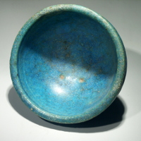 An Ancient Egyptian Faience Bowl
