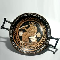 An Apulian Red-Figured Stemless Kylix