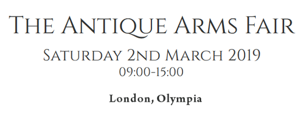 Antique Arms Fair 2019 London